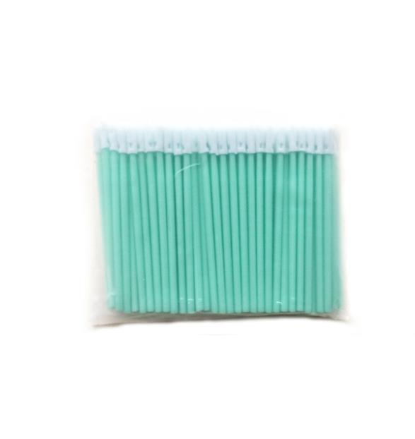 100pcs/lot 2.5mm Fiber Optic Cleaning Sticks Foam Swab for FC/SC/ST Connector Isopropyl Alcohol Cleaner Rod-in Fiber Optic Equipments from Cellphones & Telecommunications