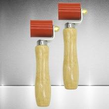 Flexível de alta temperatura resistente pvc membrana costura ferramenta de soldagem manual do rolo pressão da mão silicone multifuncional encerado