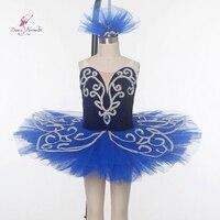 Royal Blue Pre Professional Ballet Tutu Girl Red Ballet Tutu Girl Stage Ballet Costumes Ballerina Dance