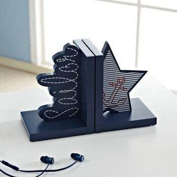 Regale Für Kinderbücher | Britischen Stil Buchstützen Desktop Dekorative Buchstützen Buch Ende Regal Buchstütze Halter Boy Kid Studie Schmücken Innenausstattung