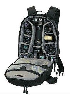 Mini Trekker AW Foto DSLR Saco Tripé de Câmera Digital SLR bolsa de viagem Mochila com All Weather Cover para Nikon Canon Gopro Sony
