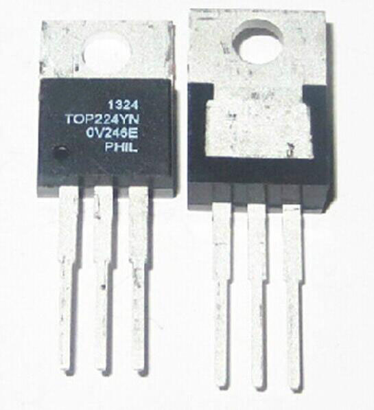1pcs/lot TOP224Y TOP224YN TOP224 TO220 LCD Power Management IC Chip / Direct Insertion Transistor