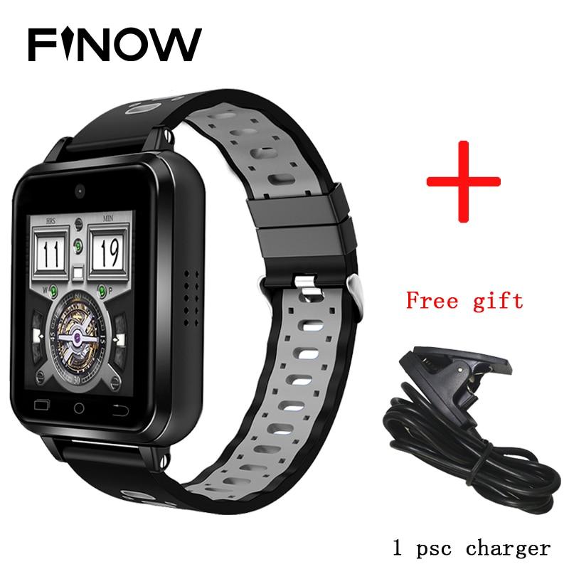 2019 New Finow Q1 Pro reloj inteligente 4G smart watch Android 6 0 MTK6737 1GB 8GB