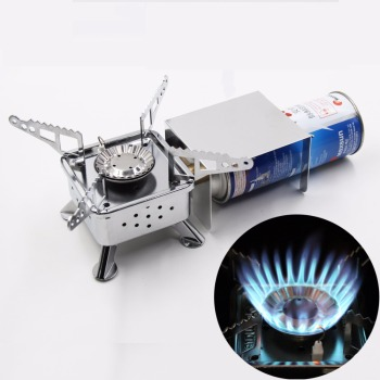 Camping Stove Folding Gas Stove Camping Equipment Outdoor Stove 2800W Gas Stove Furnace Picnic Cooking Furnace