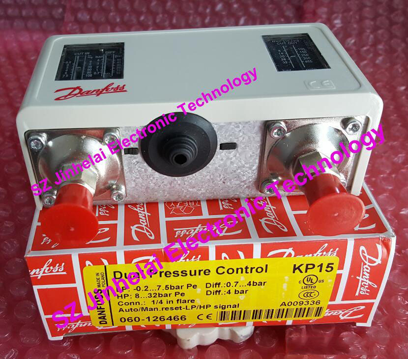 New and original KP15 060-126466, KP15 060-126566   Double pressure switch  High and low voltage pressure controller new and original kp15 060 1264 kp15 060 1265 double pressure switch high and low voltage pressure controller