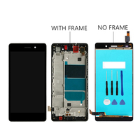 LCD Display Touch Screen Digitizer Assembly With Frame Replacement ALE L04 ALE L21 For 5 0