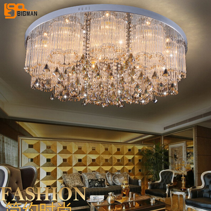 lustre design modern LED chandelier crystal lamp for living room chandelier ceiling fixtures with remote control luxury crystal chandelier lighting for living room ceiling modern led gold crystal chandelier remote control rgb lustre cristal