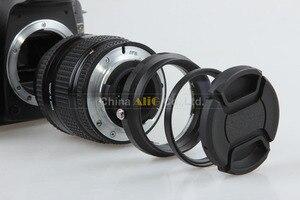 Image 4 - Macro Camera Lens Reverse Adapter Bescherming Set Voor Nikon D80 D90 D3300 D3400 D5100 D5200 D5300 D5500 D7000 D7100 D7200 d5 D610