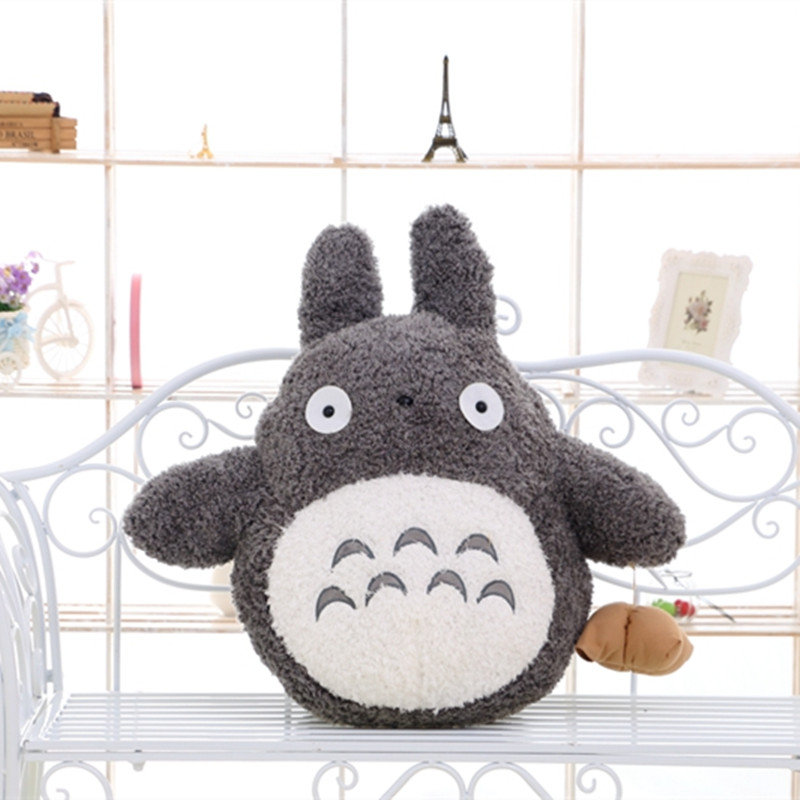 1pc 20cm Famous Cartoon Style Plush Totoro Toy Stuffed Baby Doll Cute Movie Character Birthday Gift Toys for Children Kids