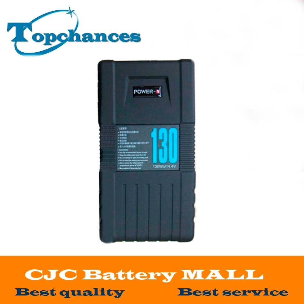 High Quality BP-130S 130Wh POWER-U 14.8V 130W V-Mount Li-ion Battery For SONY 600p 650P zpsa403r3 power supplies board mount mr li
