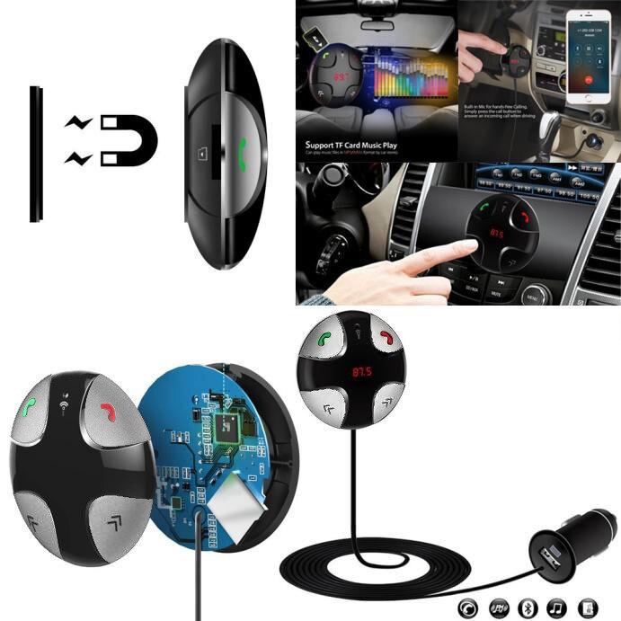 Bluetooth 4 0 Wireless Music Receiver 3 5mm Adapter Car Handsfree Aux Speaker: Willtoo Universal Bluetooth Wireless 4.0 Music Receiver 3.5mm Adapter Handsfree Car AUX Speaker