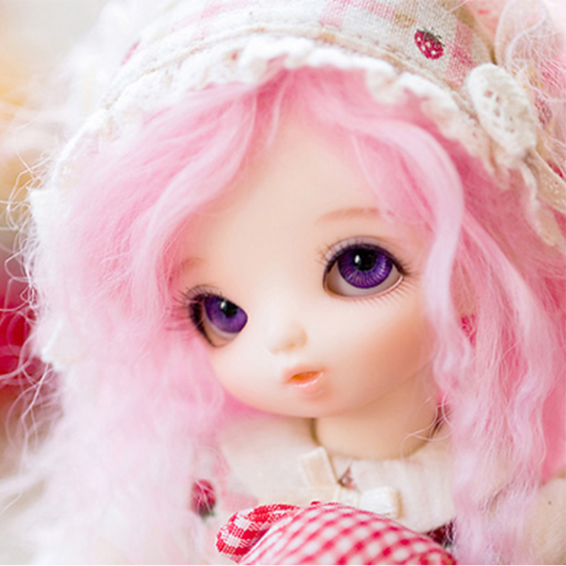 все цены на Fairyland littlefee Flora bjd sd dolls 1/6 body model tsum baby girls boys dolls dollhouse silicone resin anime furniture онлайн