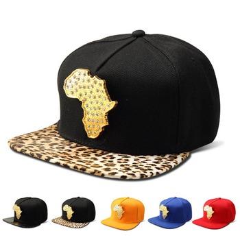 Missfox Hip Hop afryka mapa mężczyzna kapelusz osobowość czapka bejsbolowa z płaskim daszkiem Rhinestone betonowa Hipster męskie kapelusze i czapki tanie i dobre opinie Hip Hop Czapki GEOMETRIC Regulowany Faux leather 44990354334