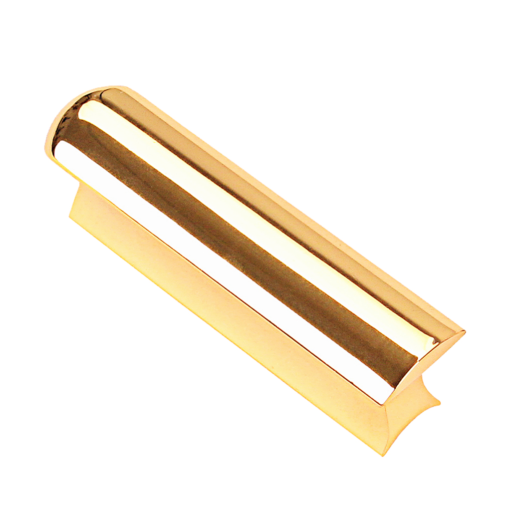 Golden Stainless Steel Lap Slide Tone Bar Stick for Guitar Pro Players Hawaii Acoustic Electric Guitar