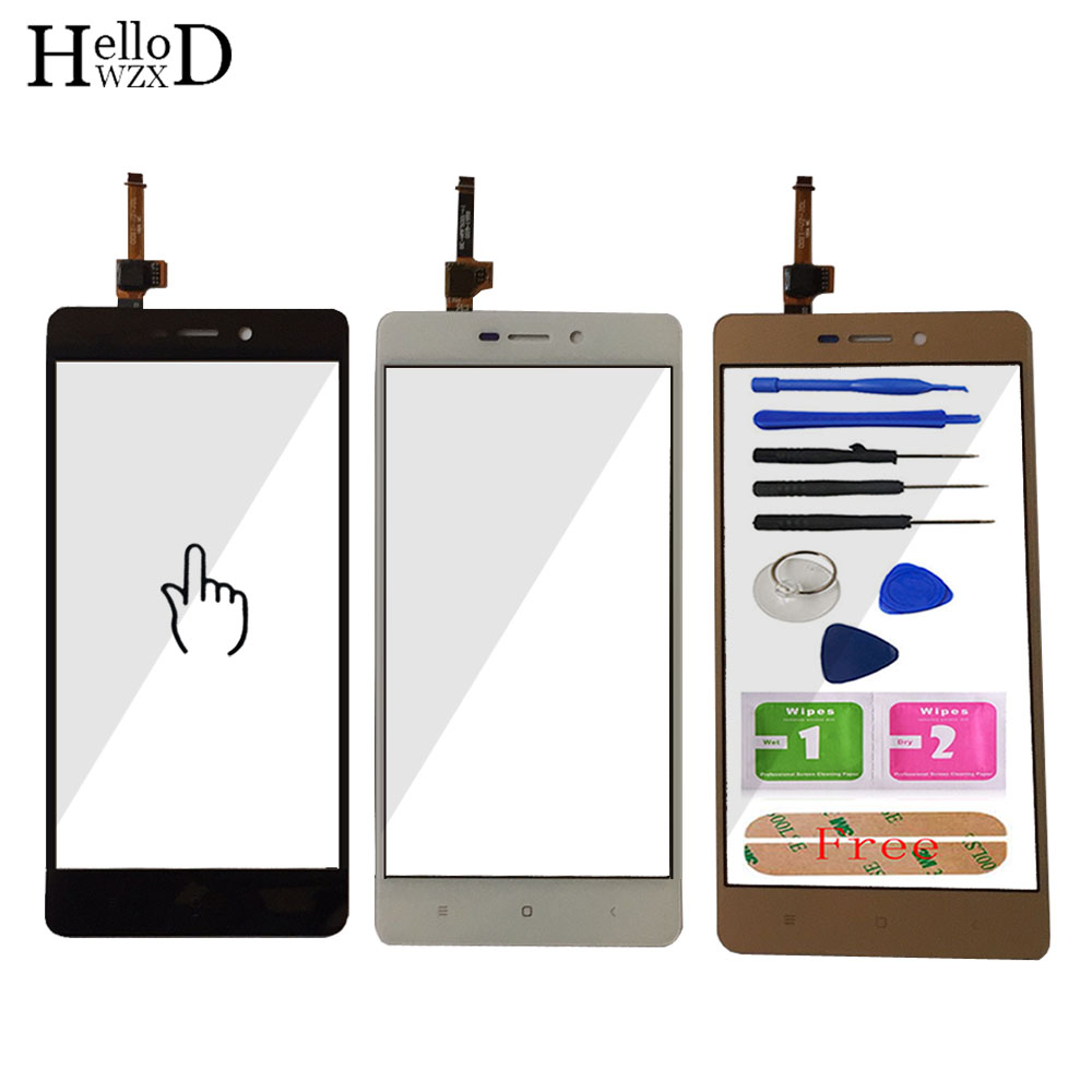 5.0'' Mobile TouchScreen Touch Screen For Xiaomi Hongmi 3 Redmi 3 Pro 3pro Redmi 3 S 3S Touch Screen Digitizer Panel Glass