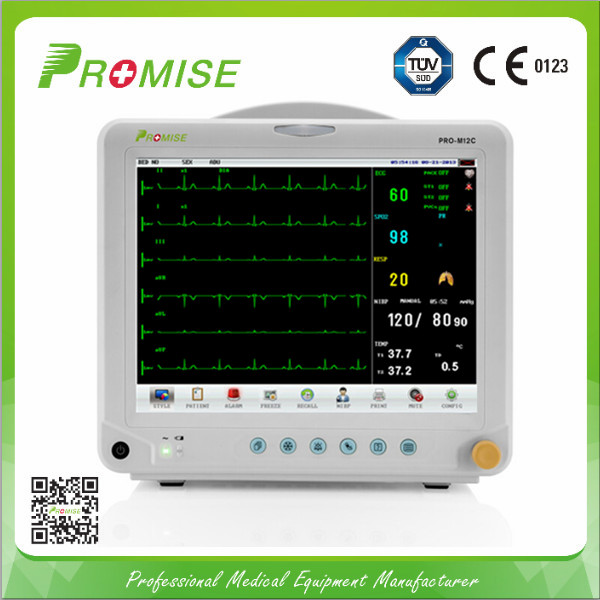 User-Friendly Operation Menu Patient Monitor (PRO-M12C)