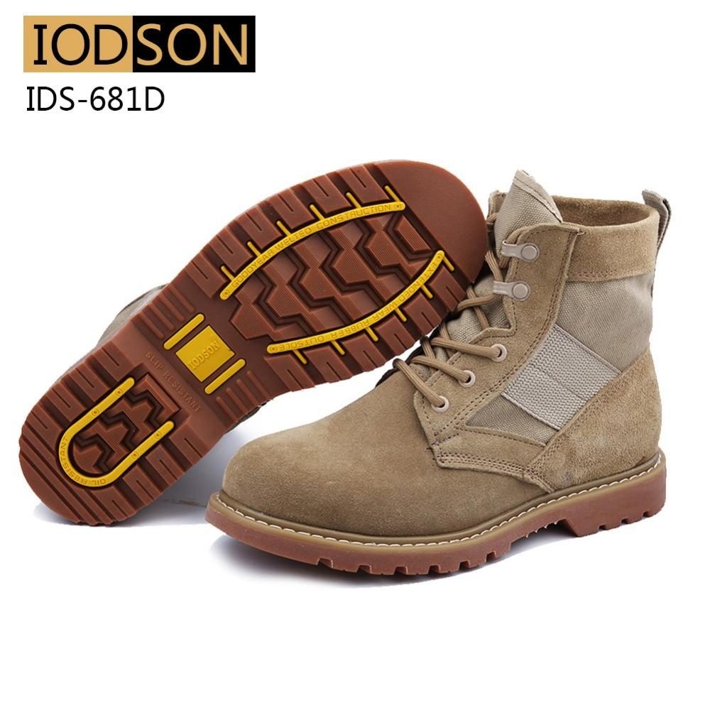 IDS-681D Vodootporne vojničke čizme Muškarci Vojne čizme - Muške cipele - Foto 5