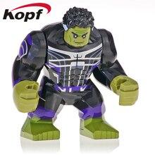 Building Blocks Avengers 4 Endgame Space Iron Monger Hulk Whiplash Collection Action Figure For Children Gift Toys XH 1051