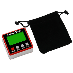 Image 5 - Precision Digital Protractor Inclinometer Water Proof Level Box Digital Angle Finder Bevel Box With Magnet Base