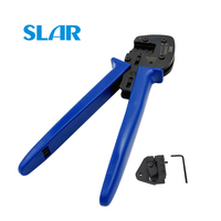 A 2546B MC4 Crimping tool for MC4 connector 2.5 4 6.0mm2 solar cable PV line Crimp tools DIY solar power system connect pliers