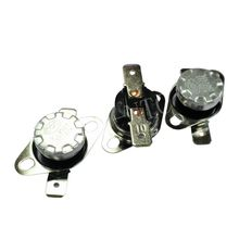 5PCS Thermostat 40C-350C KSD302/KSD301 10A250V 45C 50C 55C 60C 65C  70C 75C 80C 85C 90C 92C 95C 100C degrees Normal Closed open