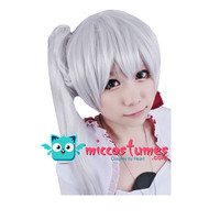 Synthetic Wig Weiss Schnee White Cosplay Wig Party Wigs Synthetic Hair