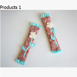 Hot sales new colors flower refrigerator handle cover fridge door handle cloth kitchen free handle free.jpg 250x250