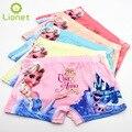 5 unids/lote anna elsa Muchachas de la Historieta de Kawaii Ropa Interior Boxer de Algodón de Los Niños Kids Girls Panties Niños Pantalones Bebé de la Ropa Interior 3-10 Año