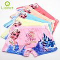 5pcs/lot anna elsa Kawaii Cartoon Girls Underwear Children's Boxer Cotton Kids Girls Panties Kids Pants Baby Underwear 3-10 Year