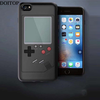 DOITOP Wielu 4sfor Telefon Case Tetris Gry TPU Back Cover Iphone X Capas Fundas Coque Konsoli Do Gier Pokrywy Skrzynka Dla Iphone X przypadki