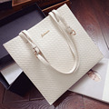 Big Women messenger bags 2015 woven shoulder bag summer new European and American leisure wild handbags