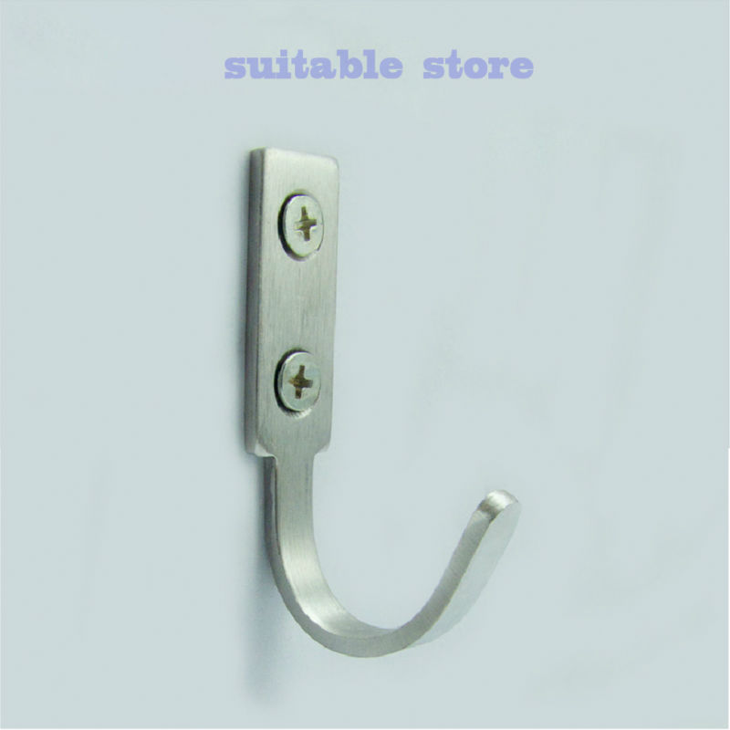 Wall Hanging Hooks 6pcs) free shipping /stainless steel hanging hook /coat hook