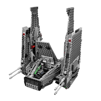 LEPIN 05006 Stars Series War The Command Shuttle Space Ship DIY Set Model Building Kits Blocks