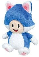 スーパーマリオブラザーズぬいぐるみおもちゃ図3d世界猫catヒキガエ