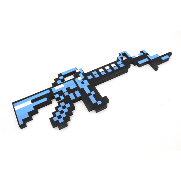 Newest Minecraft Toys Minecraft Submachine Tommy Gun Plastic Model Toys EVA Minecraft Game Action Figures Childrens Toys Gifts