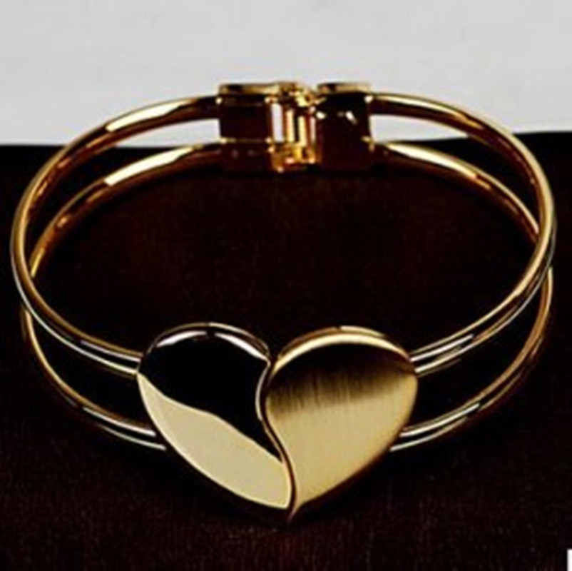 Summer Gold Heart Jewelry...