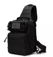 Cycling shoulder bag camouflage sports small chest bag shoulder diagonal outdoor large tactical explosion models chest bag