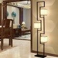 Novo e moderno Chinês lâmpada chão da sala lâmpada estudo clássico conduziu a lâmpada quarto ferro lâmpadas antigas