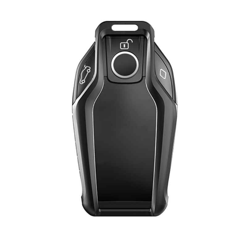Safekey Car Key Cover Case for BMW 2017 2018 7 Series I12 730 740 750 760 G11 G12 G20 G30 Led Display Touch Screen protect