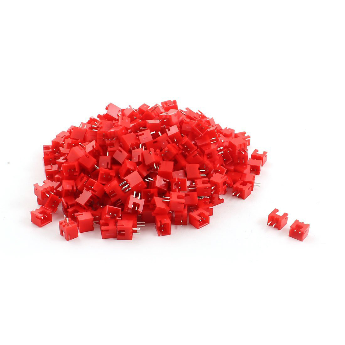 330pcs Red Shell Straight Pin 2.54mm Pitch JST PH Male Connector Plug 2 0mm pitch ph connector plug socket plastic shell wire to board pcb weld plate 2p3p4p5p6p7p8p9p10p11p12p13p14p15p16p