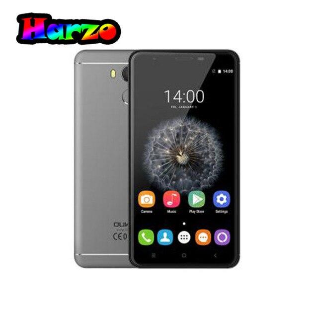 Оригинал Oukitel U15 PRO MTK6753 1.3 ГГц Окта основные Android 6.0 5.5 Дюймов HD Экран 3 Г + 32 Г 3000 мАч Отпечатков Пальцев 4 Г LTE Смартфон