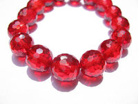 Wholesale Cubic Zirconia CZ Gemstone Roud Ball Crimson Faceted Multicolor Jewelry Beads Cabochons 8mm 50pcs