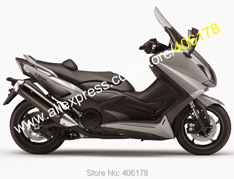 Hot Sales,For Yamaha T-MAX 530 15 16 TMAX530 T MAX 530 2015 2016 TMAX-530 Gray ABS Motorbike Fairing Kit (Injection molding) hot sales for yamaha tmax530 parts 2012 2014 tmax 530 12 14 tmax 530 motorcycle body aftermarket kit fairing injection molding