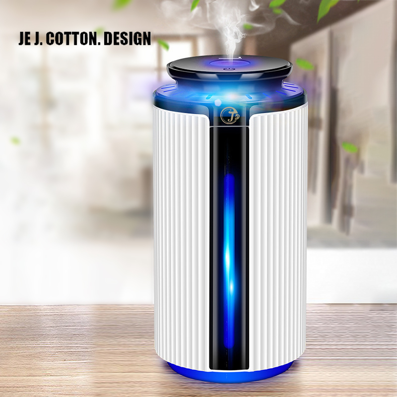 900ML Air Ultrasonic Humidifier USB Essential Oil Diffuser 7Color Atomizer Freshener Mist Maker with LED Lamp Light for Home