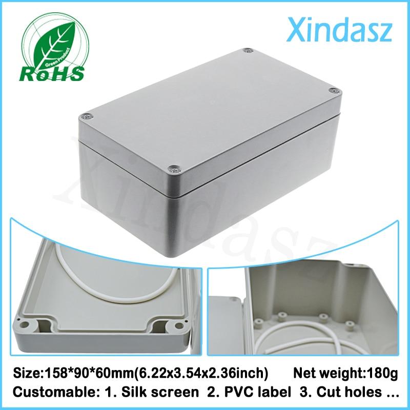 (XD-F2A  5pcs/Lot)158*90*60mm plastic boxes electronics enclosure waterproof junction box lot 2 90 lot 3 60 g700 sop28