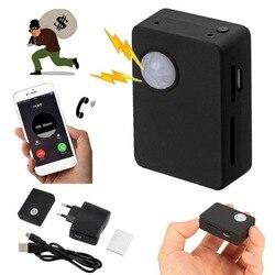 Mini X9009 lokalizator GPS inteligentna bezprzewodowa czujnik ruchu PIR czujnik wspomagania kamera HD SMS MMS GSM System antykradzieżowy Mirco USB
