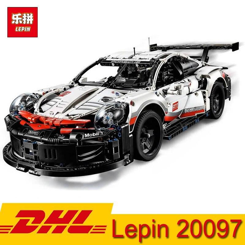 Lepin technique 23002 23006 20087 20001B 20086B 20097 Supercar 911 GT3-rs Bugatti McLaren blocs de construction Briques Jouet