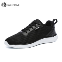 Fashion Men Casual Shoes 2018 Spring Breathable Mesh Lace Up Flats Mens Shoe Male Sneakers Big Plus Size 39-48