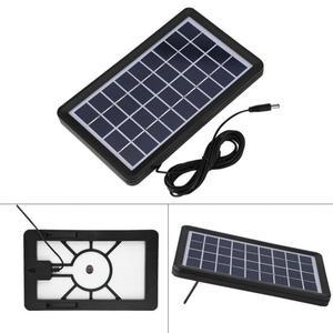 Image 5 - Painel solar de célula solar 9v 3w, poly silicone placa solar 93% transmissão de luz à prova d água painel solar acessórios para carregador de energia