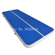 Free Shipping 6x2m Air Track Tumble Mat Inflatable Gymnastics Floor Mats with Pump